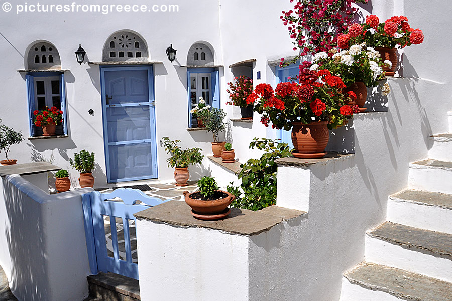 how to read addresses in greece